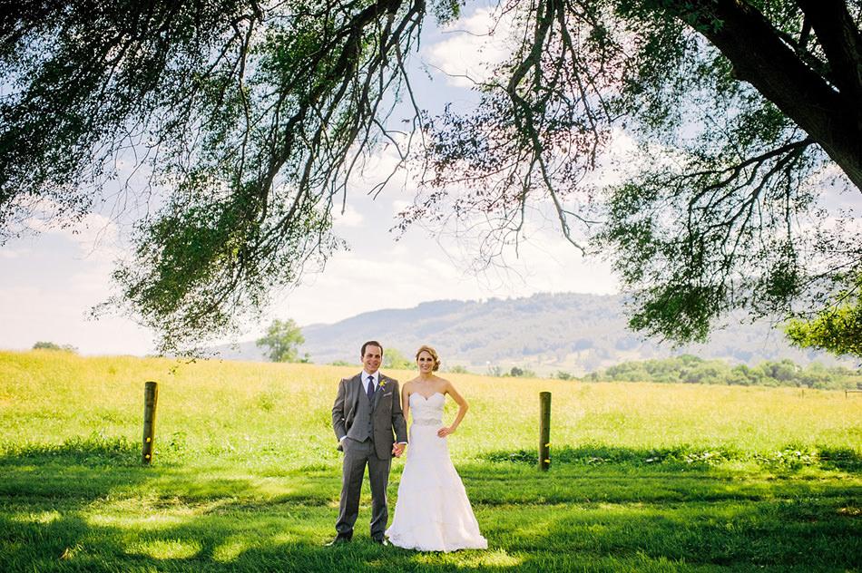 appalachian wedding portrait