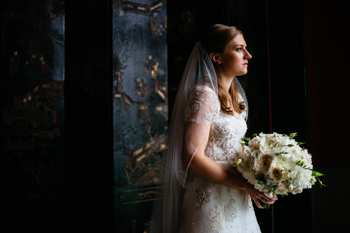 greenbrier resort bridal portrait