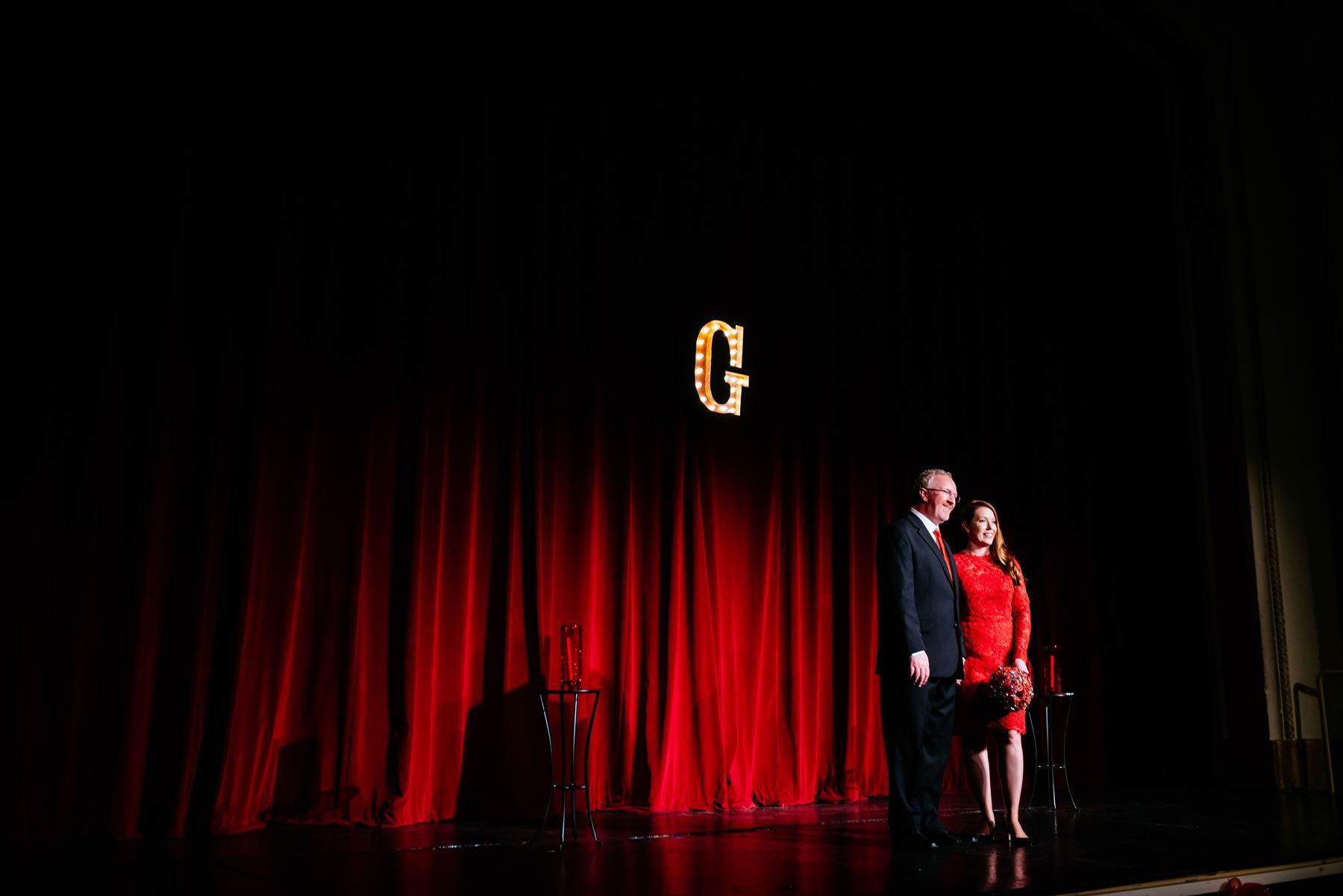 theater wedding ceremony charleston wv