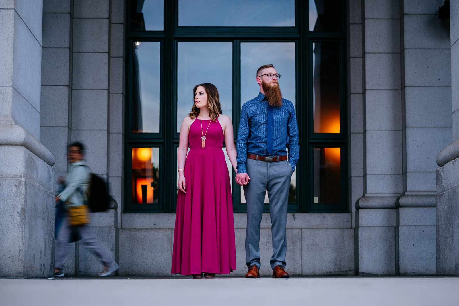 union station dc engagement session