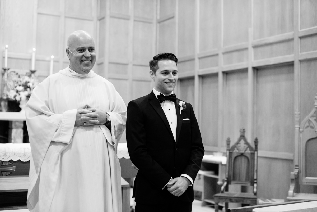 borromeo catholic church wedding ceremony