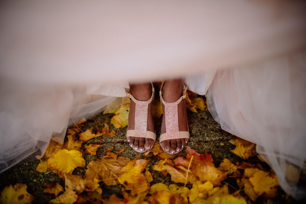 fall wv wedding