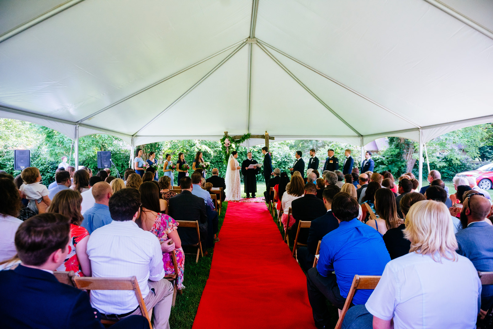 ceremony holly hill inn wedding lexington ky