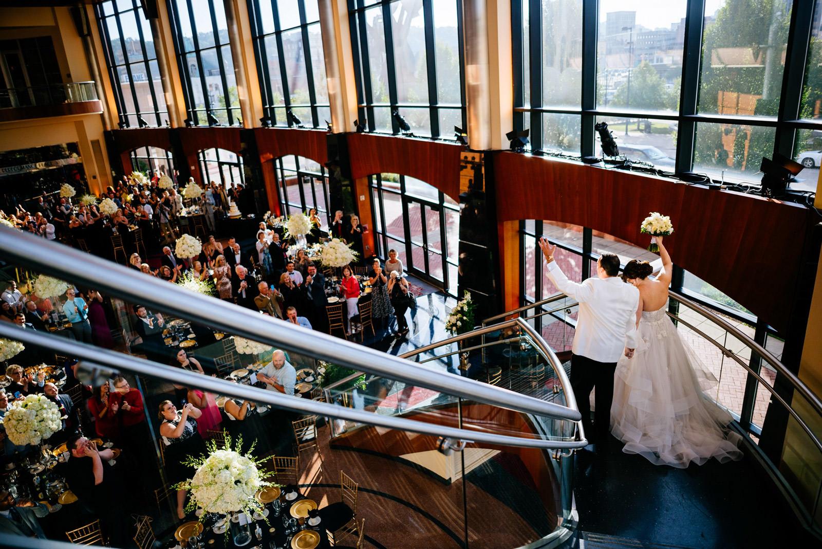 clay center wedding reception