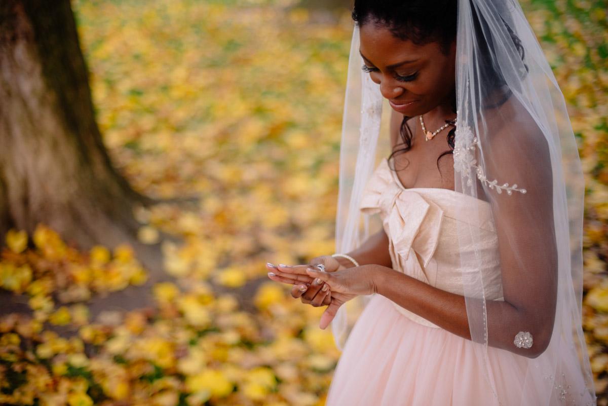 west virginia autumn october elopement