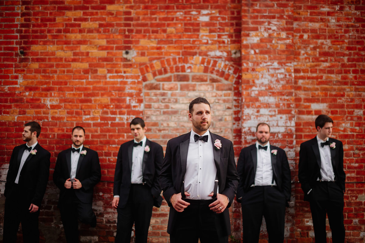 badass groomsmen portrait