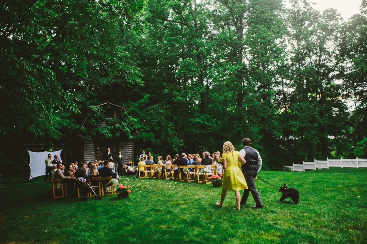 charleston wv backyard wedding ceremony