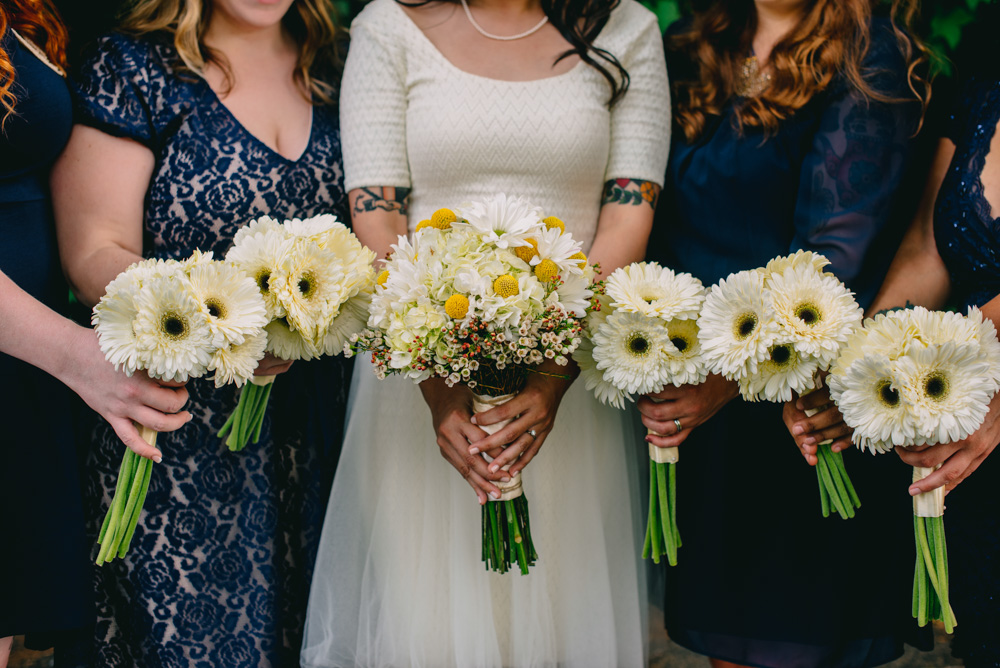 gerbera daisies charleston west virginia wedding
