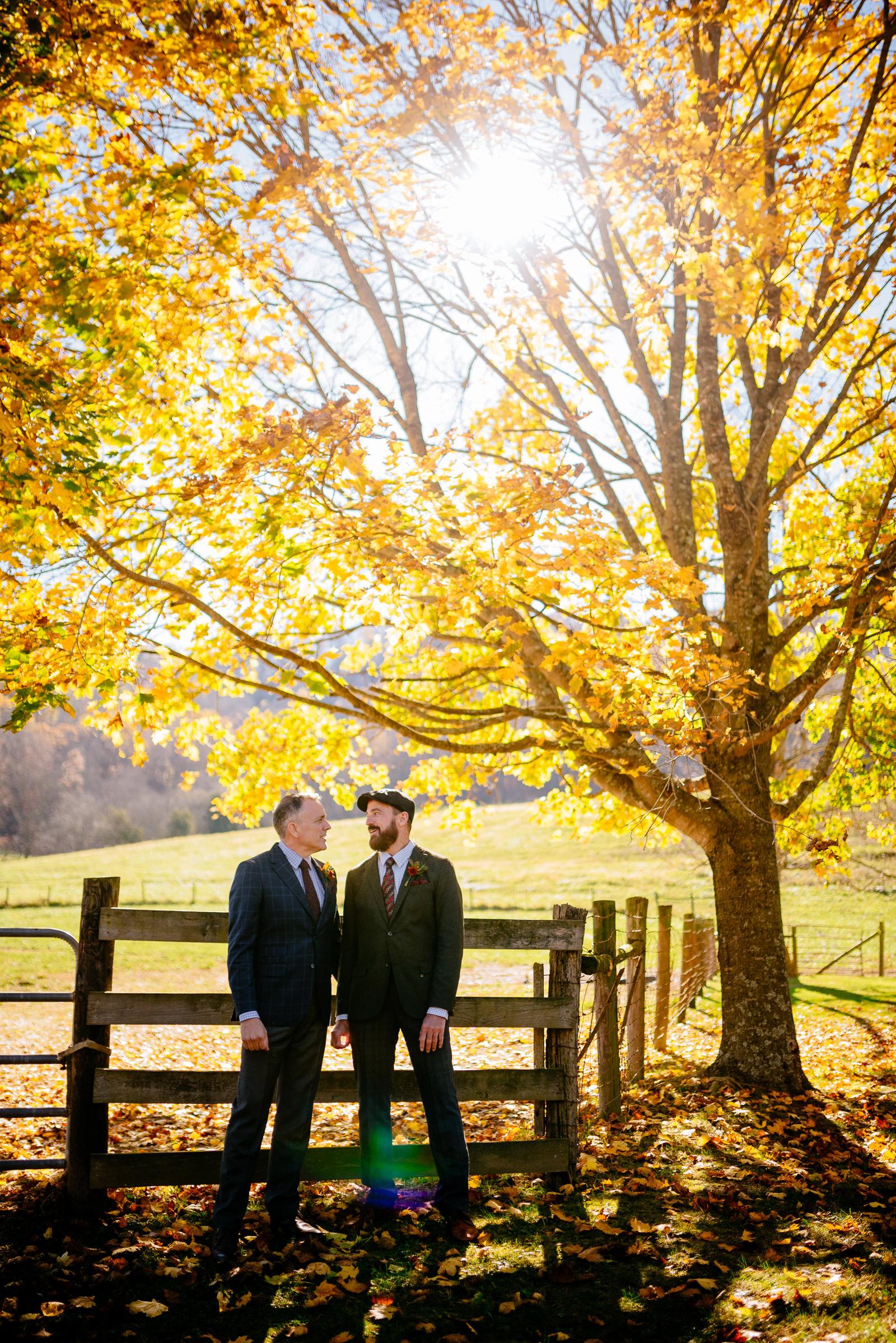 groom portraits wv same sex wedding