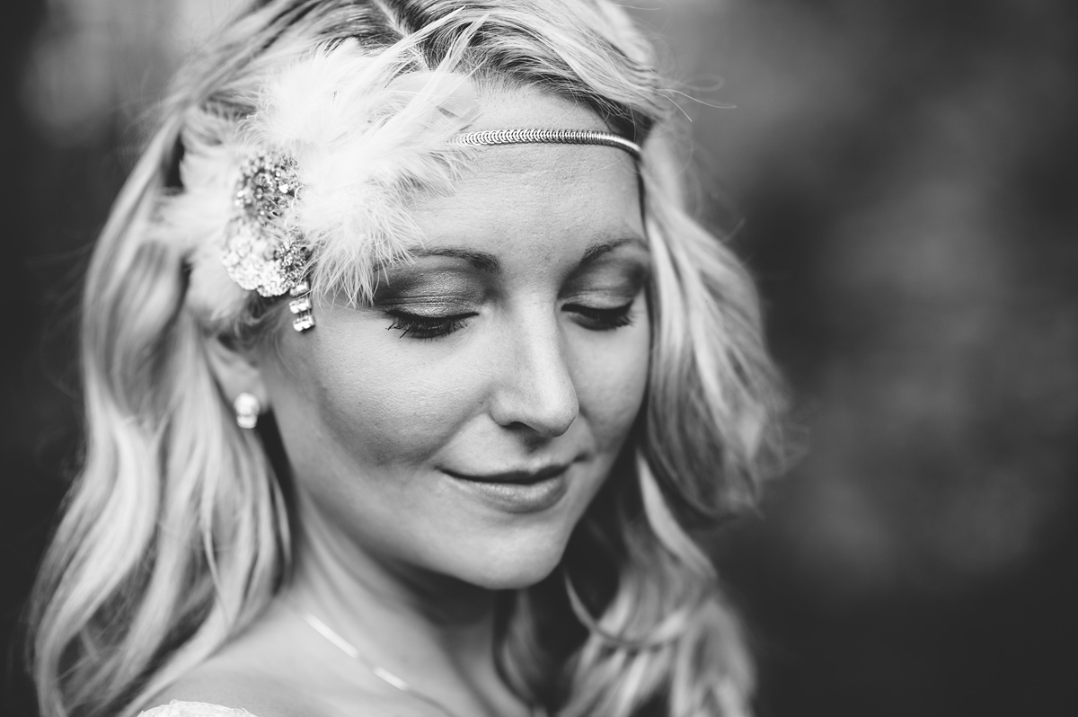 prohibition themed wedding at blackwater falls west virginia