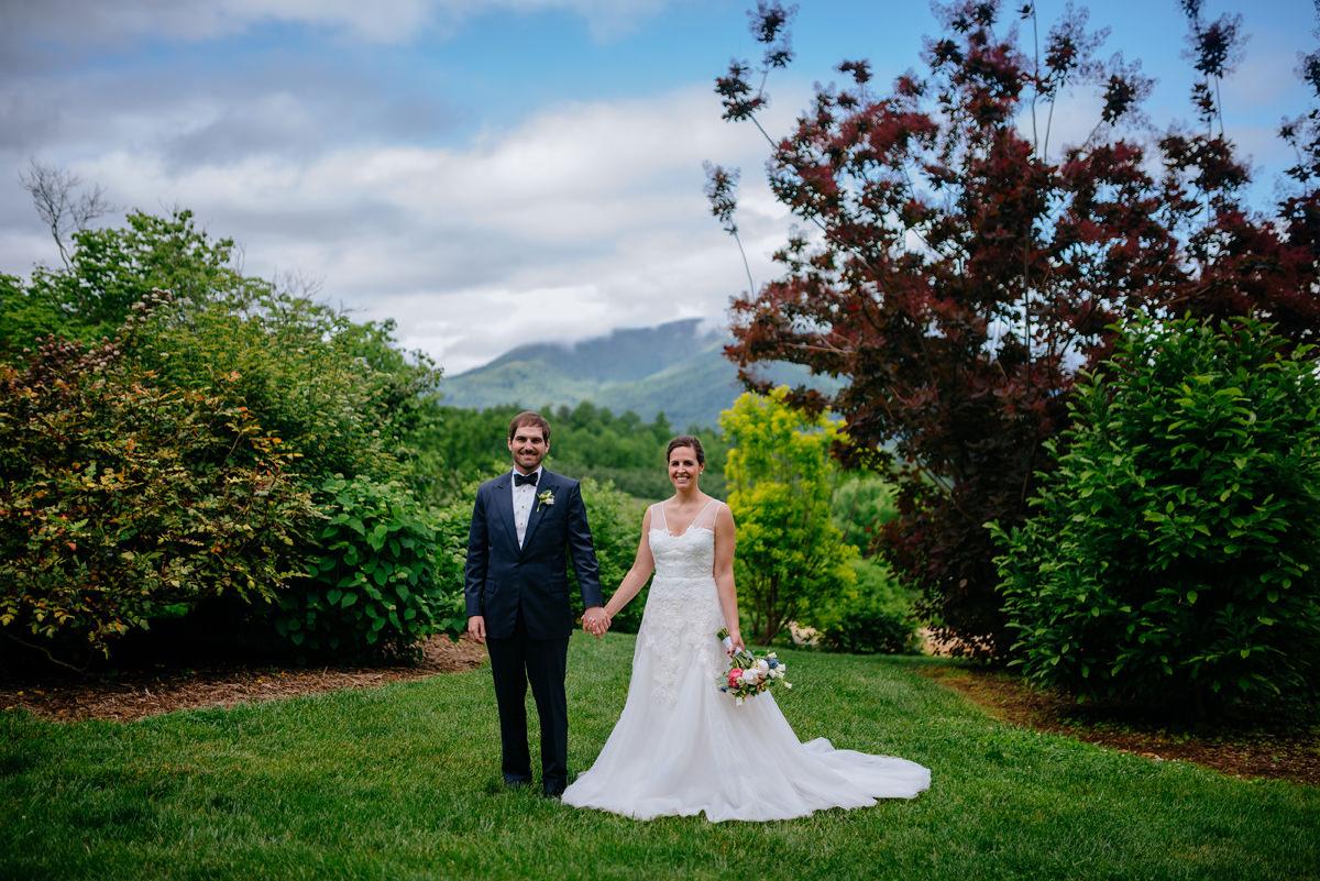 virginia wedding portrait of bride and groom
