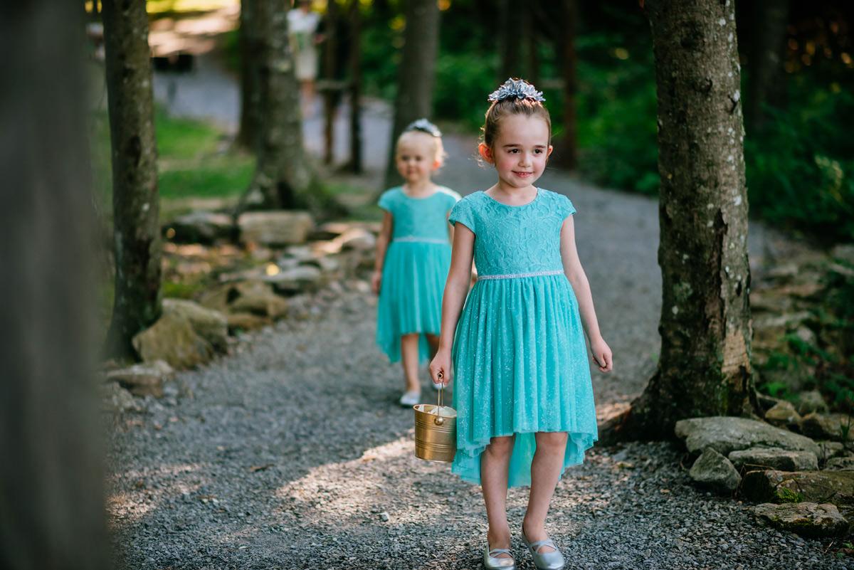 confluence resort wedding ceremony bluff