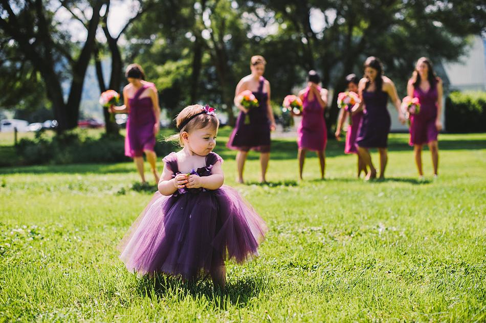flowergirl bridesmaids