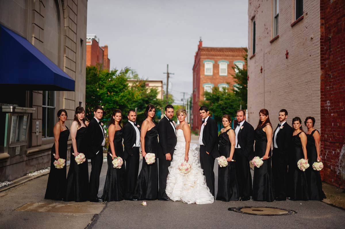 smizing wedding party