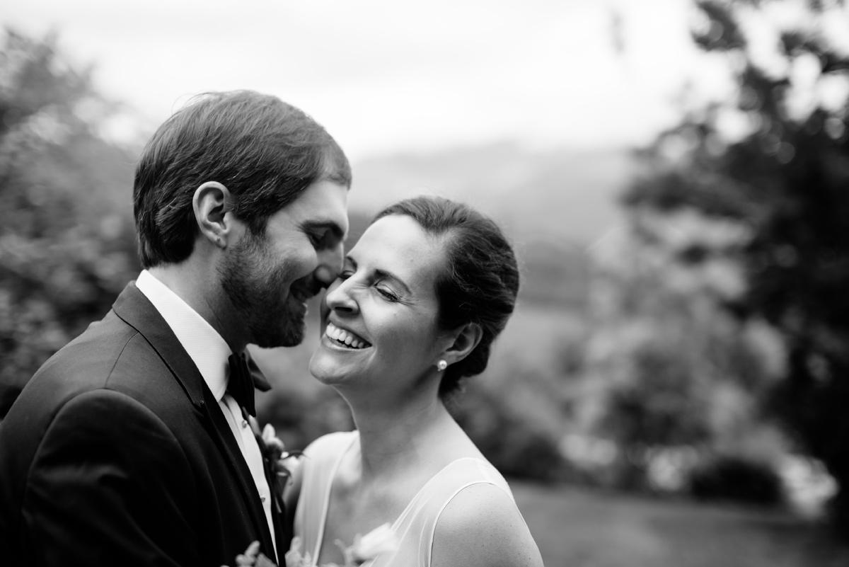 wv wedding bride and groom cuddle