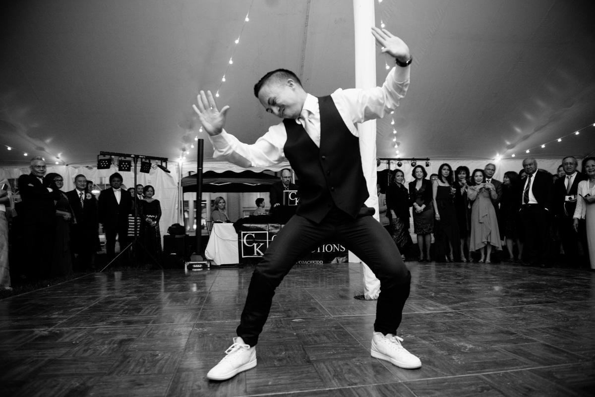 charleston wv wedding groomsmen dance routine