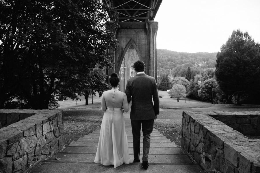 wedding processional cathedral park portland oregon
