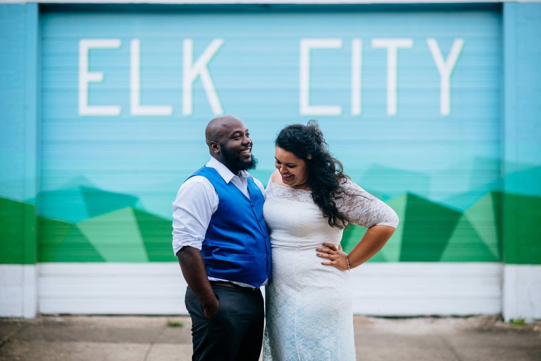 west side elk city charleston wedding