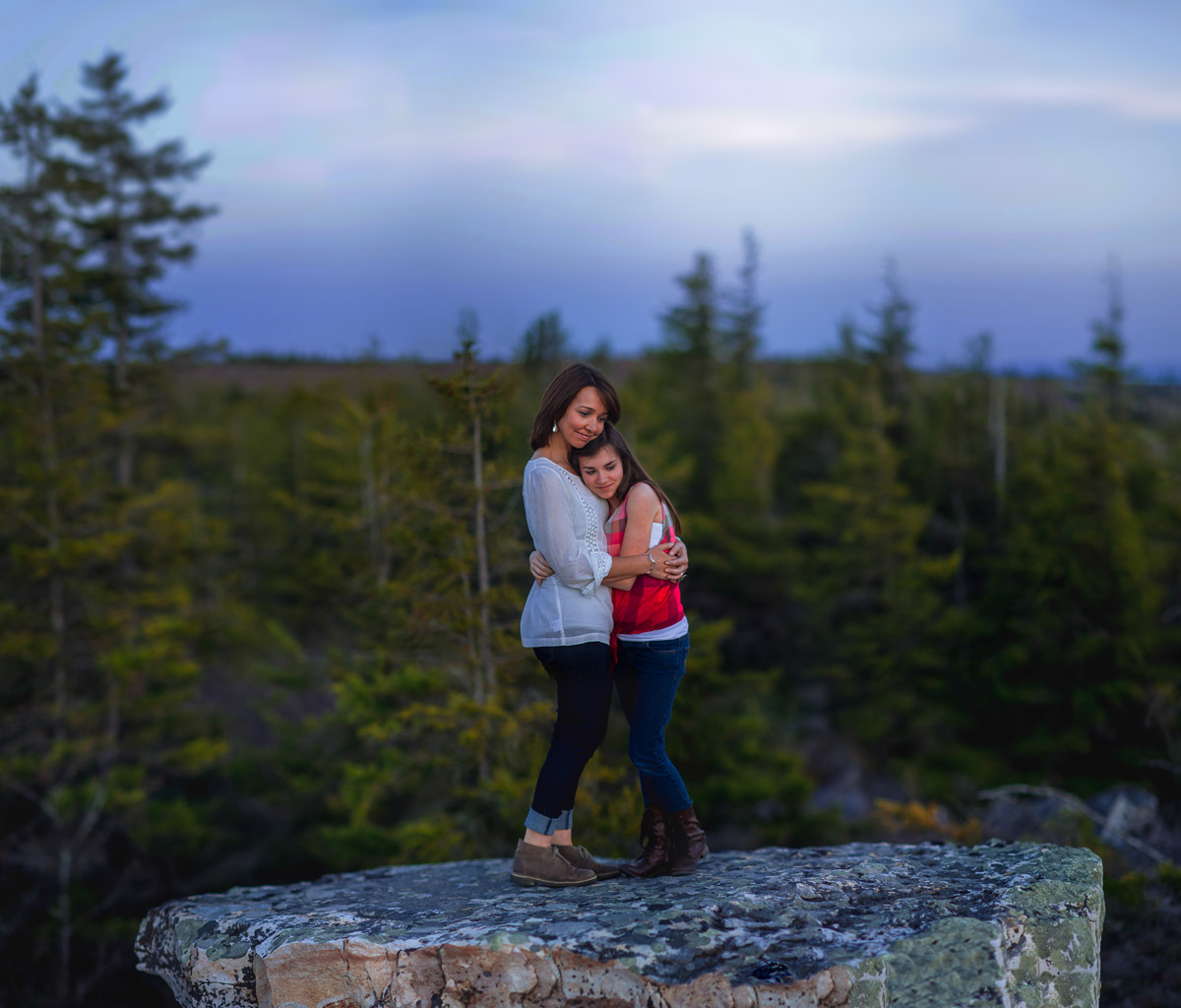 brenizer method bokeh panorama at dolly sods wilderness by the oberports