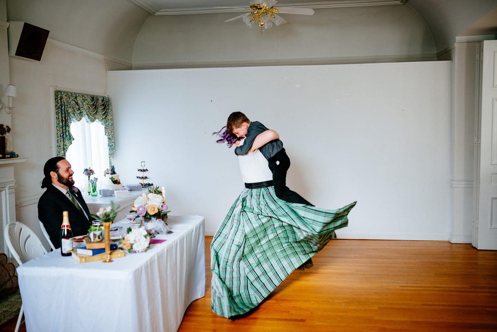 charleston wv womans club wedding reception upstairs