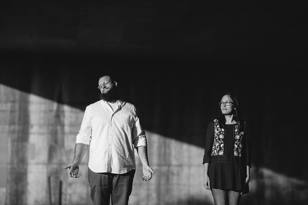 nontraditional engagement photographers in west virginia
