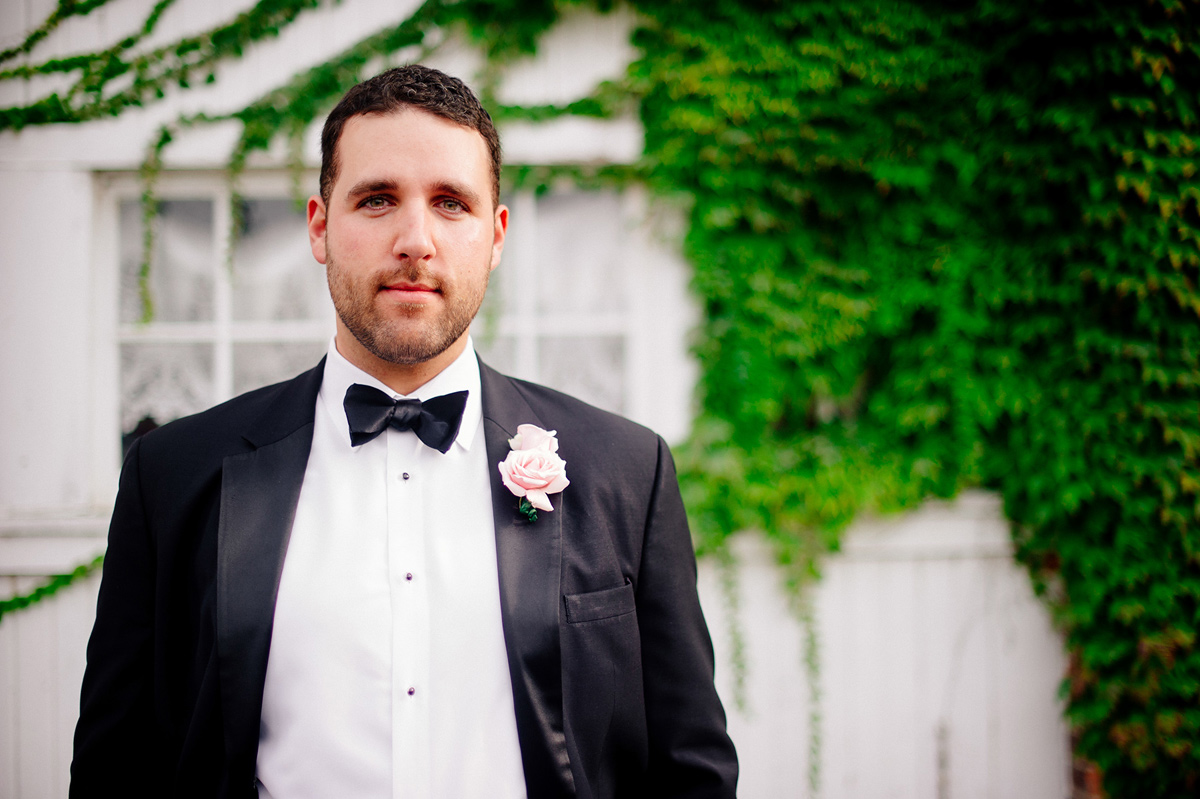 awesome portrait of groom
