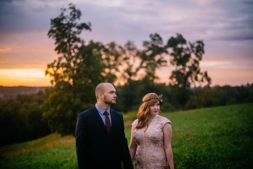 bride groom portraits benedict haid west virginia