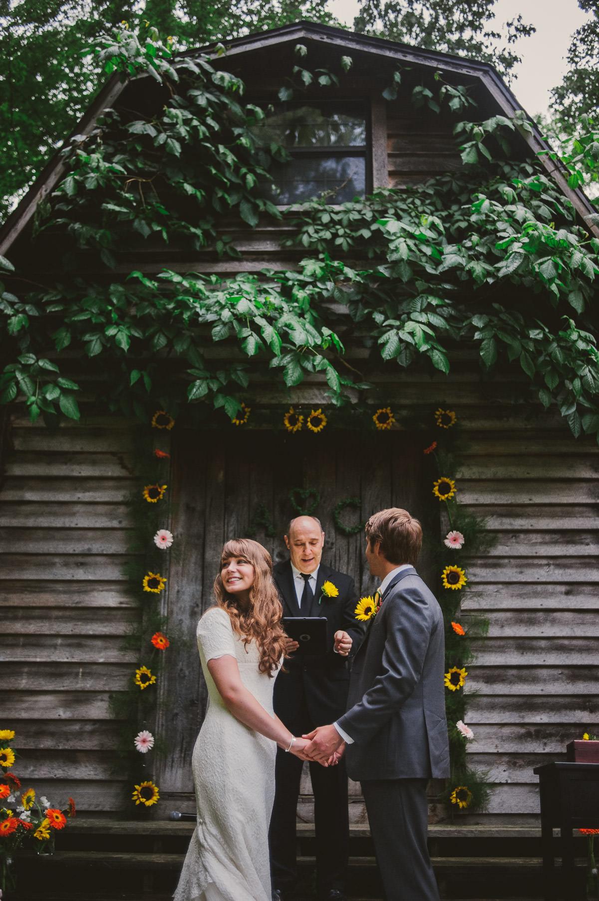happy bride vows
