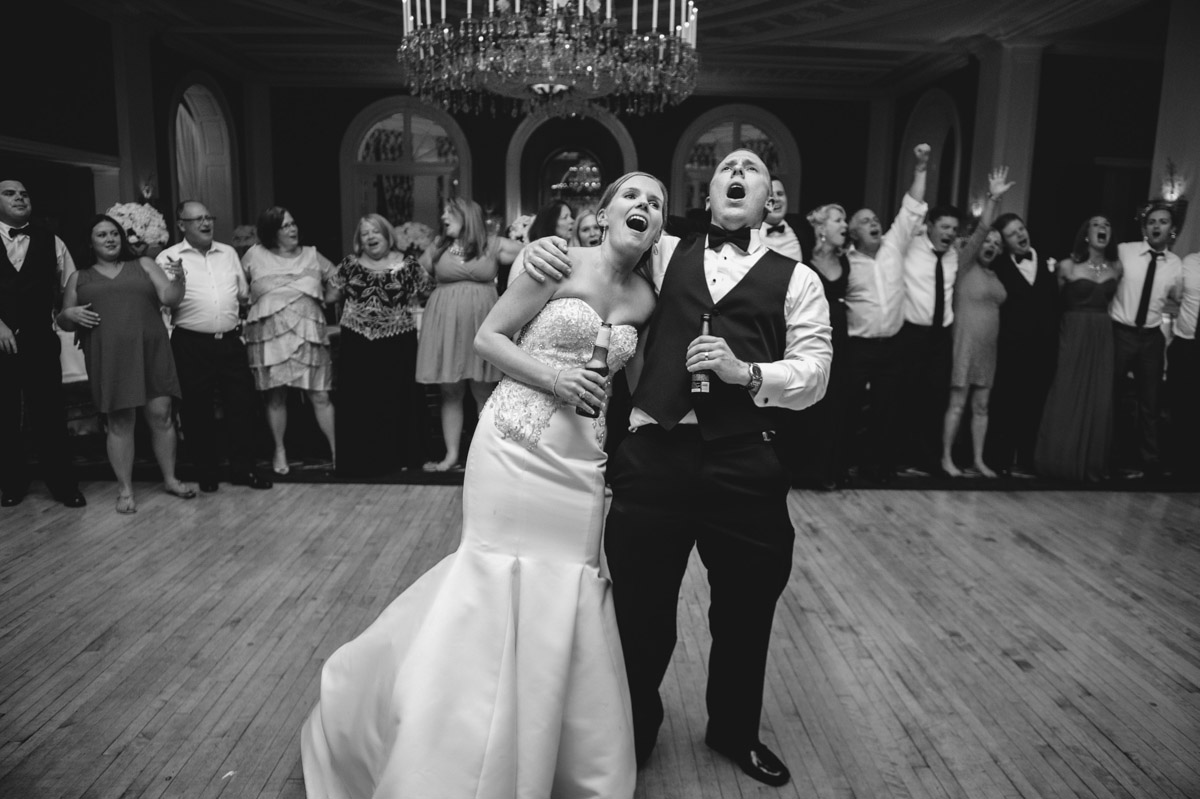 bride groom singing country roads at the greenbrier resort by best wv west virginia wedding photojournalism the oberports