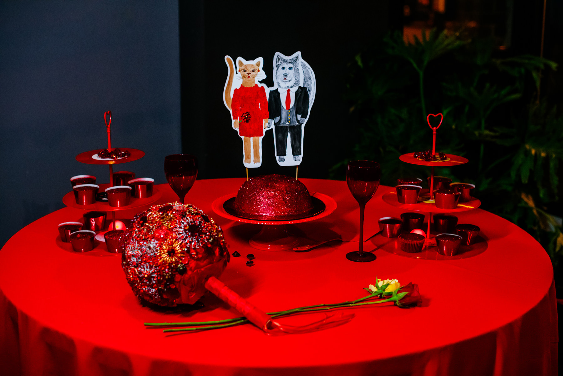 red february wedding details charleston wv