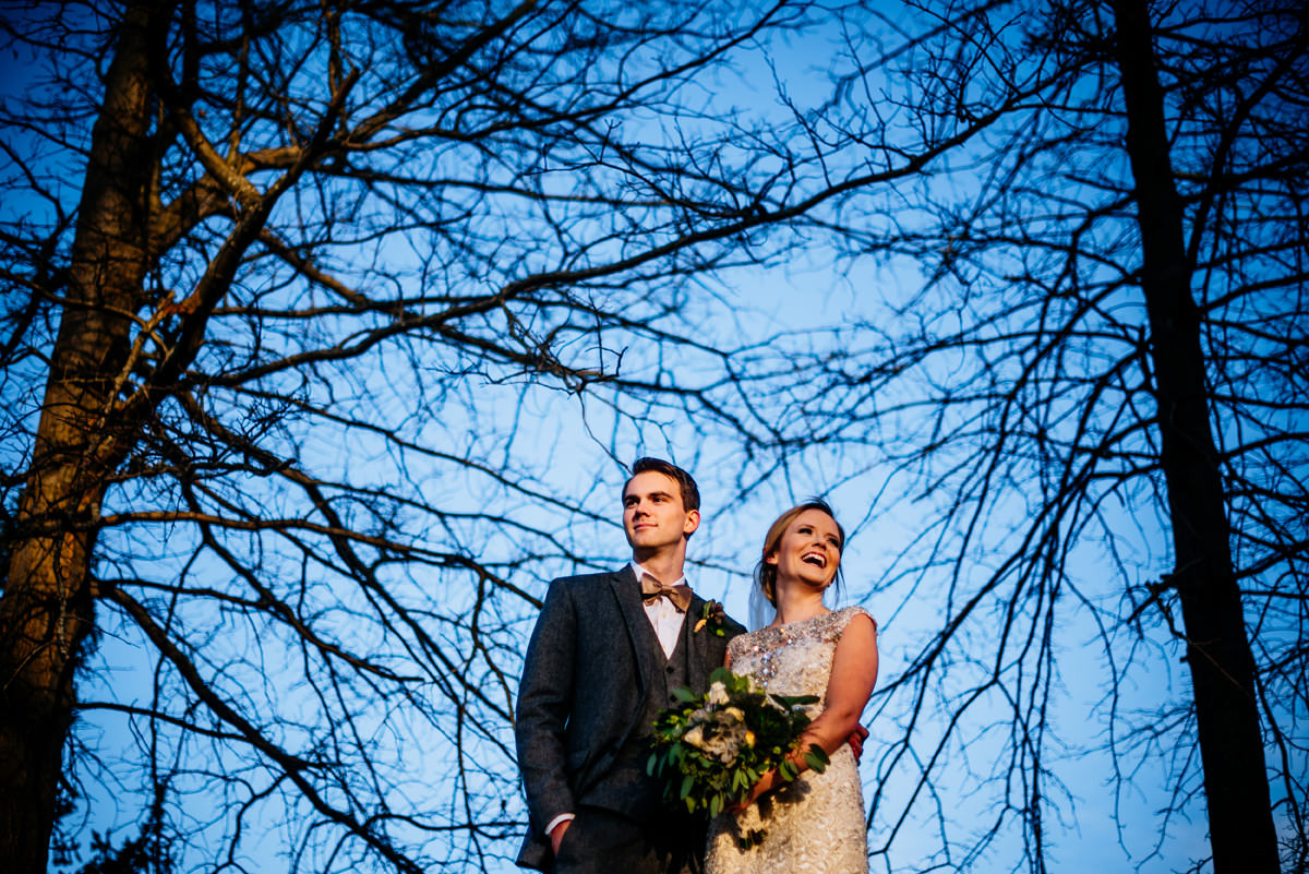 wv winter wedding portraits huntington west virginia