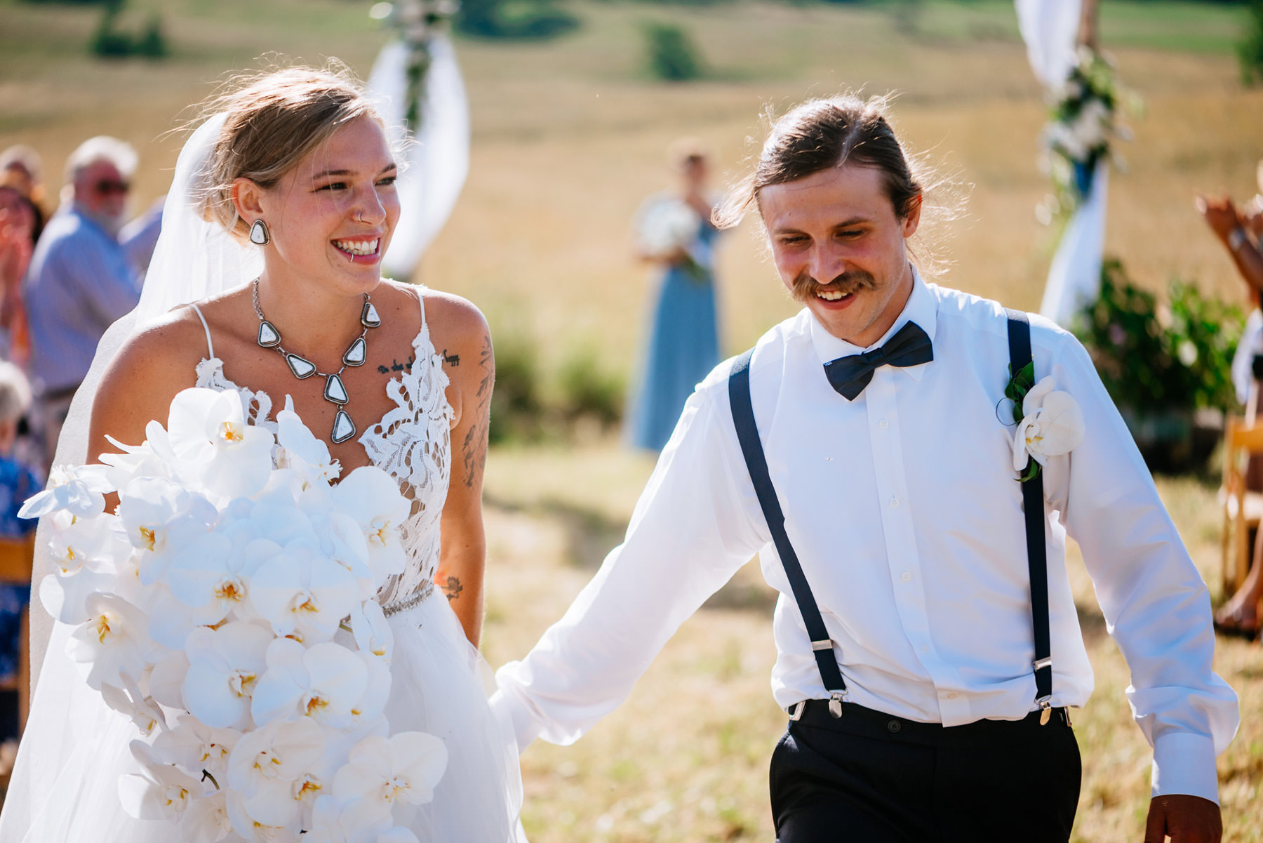 boho wv farm wedding lewisburg