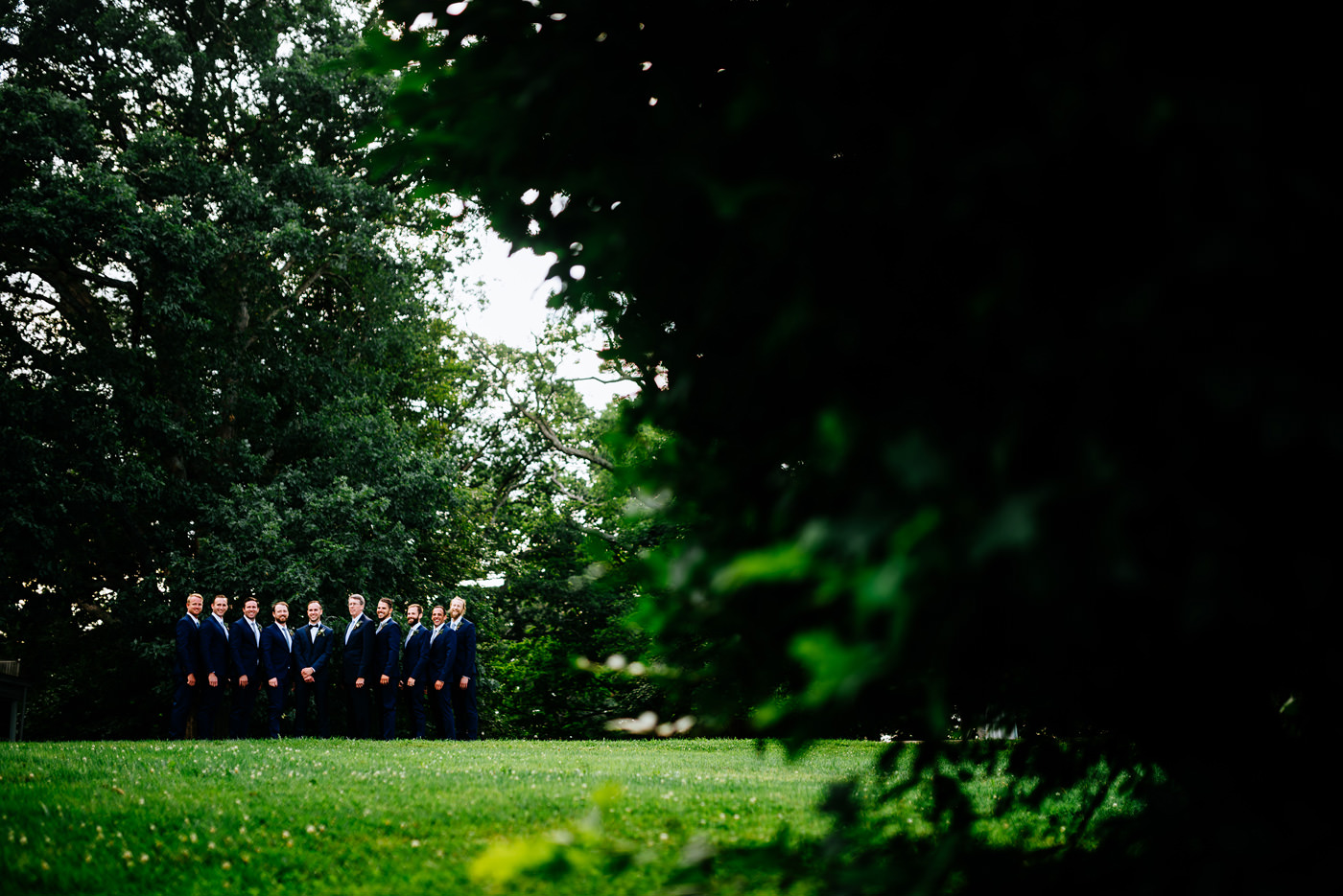 lewisburg wv outdoor wedding ceremony at tuscawilla farm