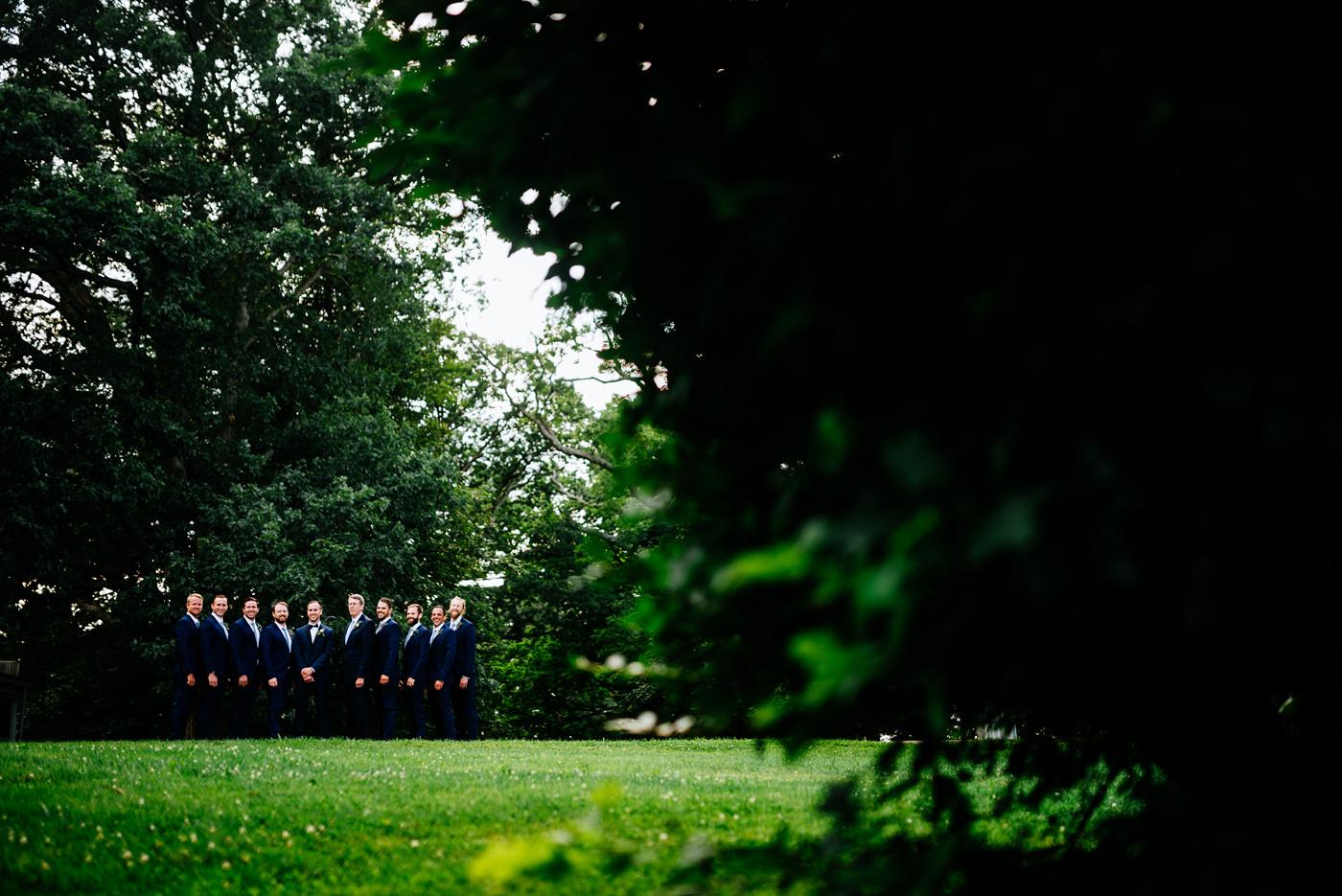 lewisburg wv outdoor wedding ceremony at tuscawilla farm