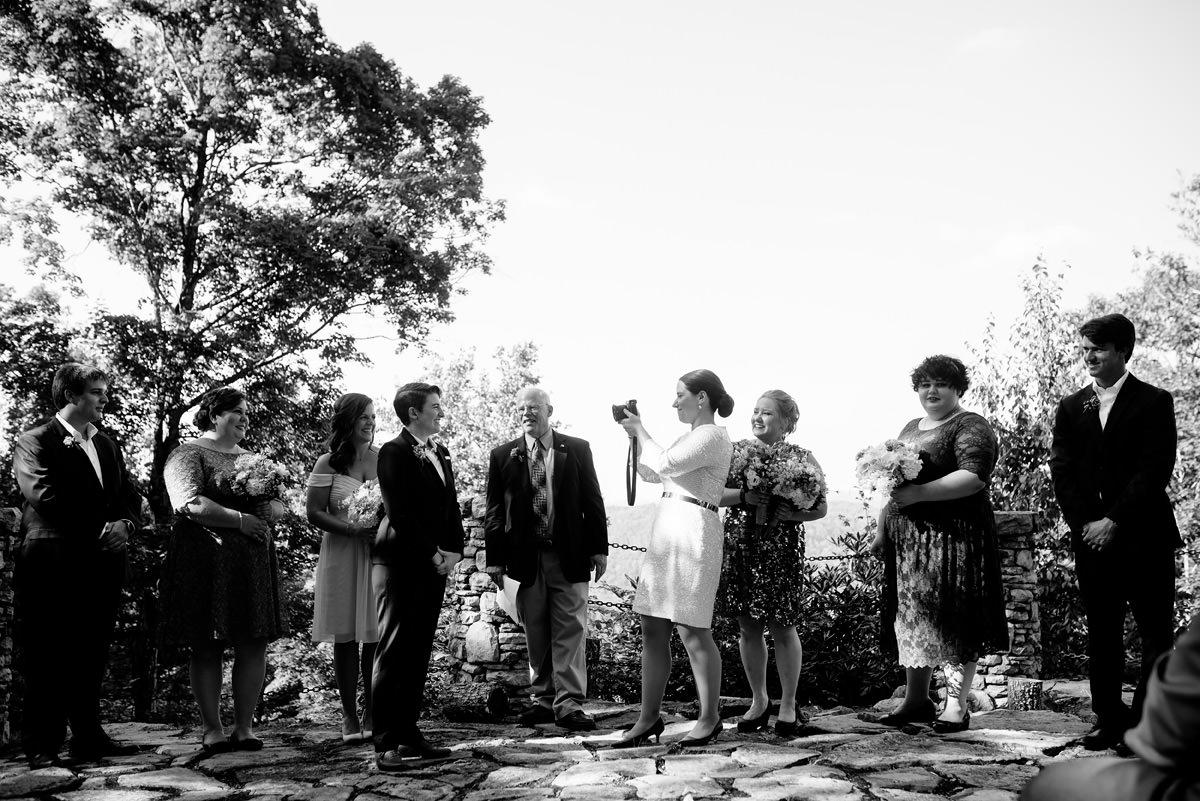 wv wedding ceremony the confluence