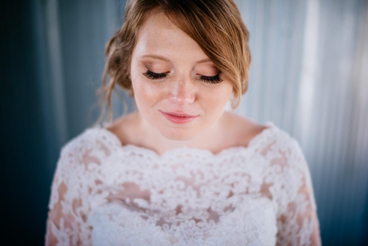 bridal portrait jq dickinson saltworks wedding charleston west virginia