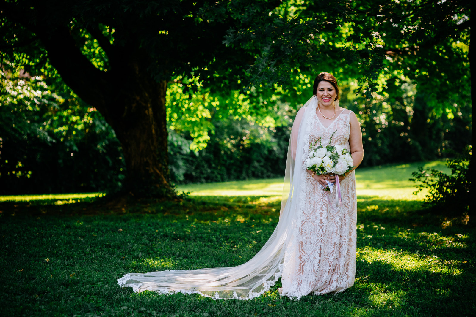 bridal portrait lexington kentucky wedding