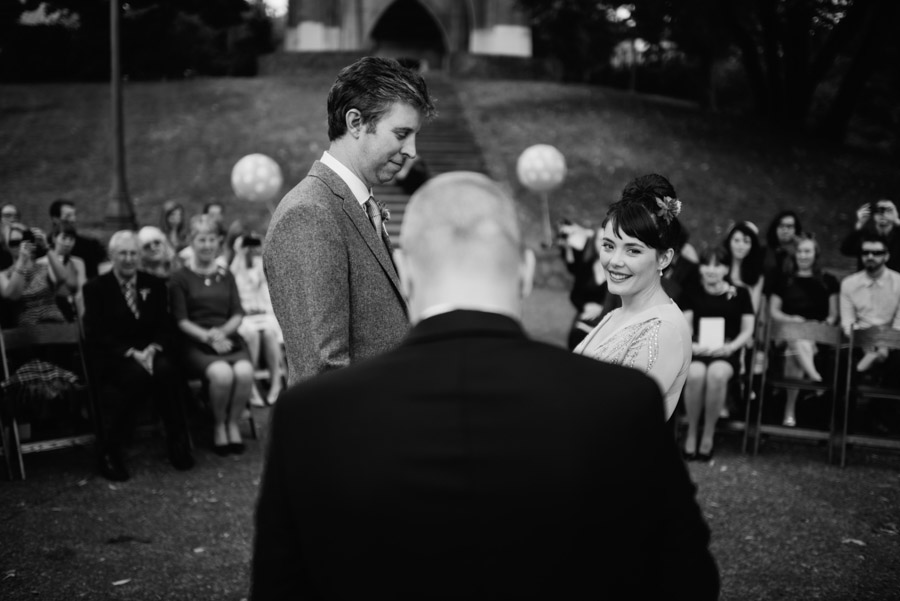 creative wedding ceremony photojournalism by wv photographers the oberports