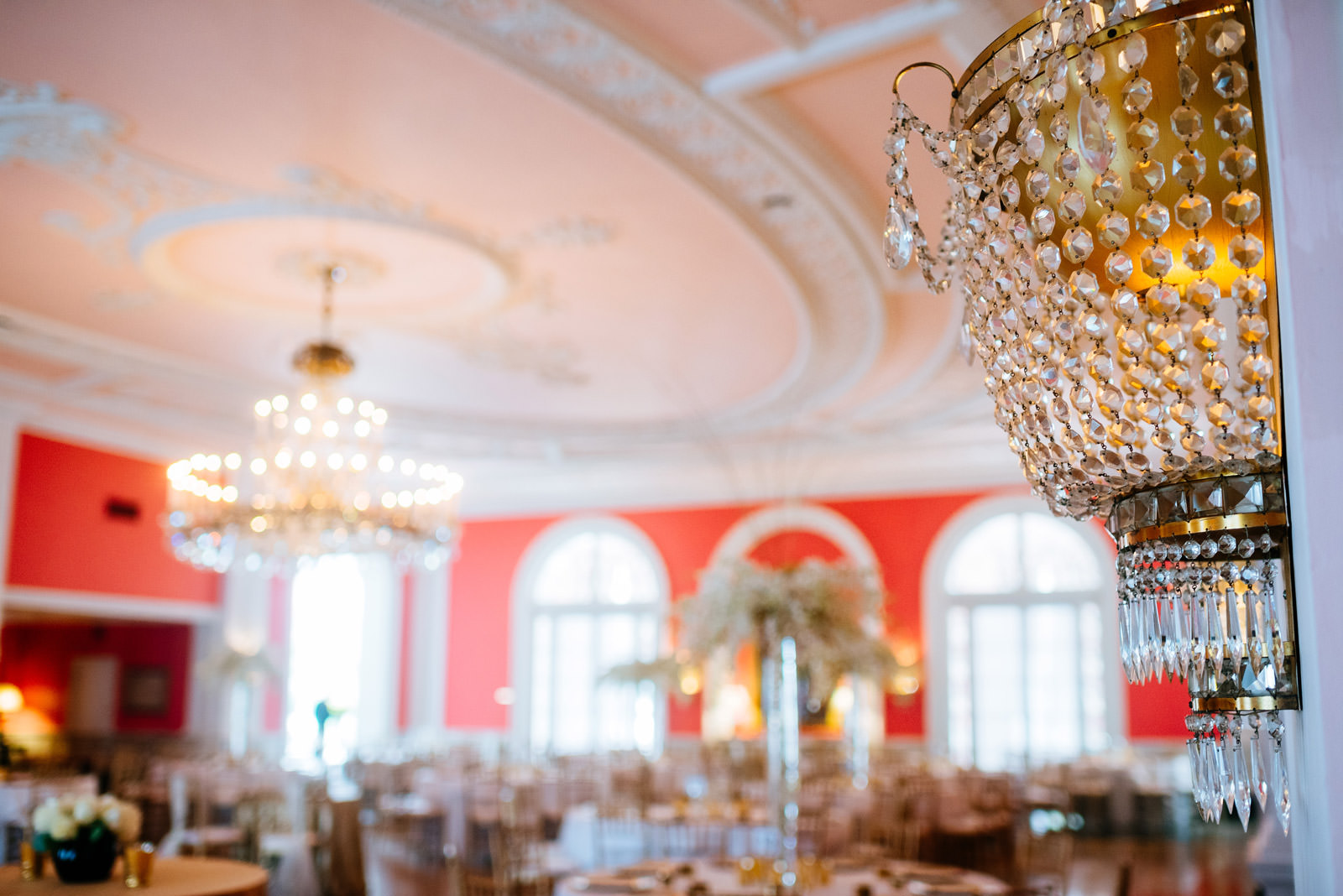 greenbrier resort cameo ballroom reception