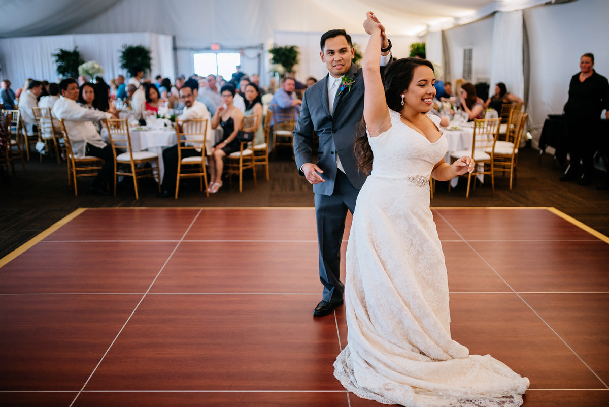 first dance wedding reception marriott pavilion wv wedding