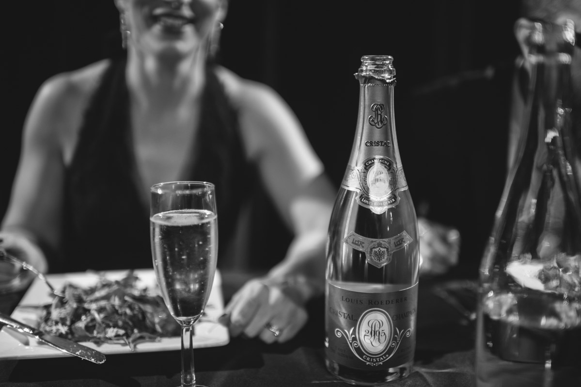 wedding details cristal champgne
