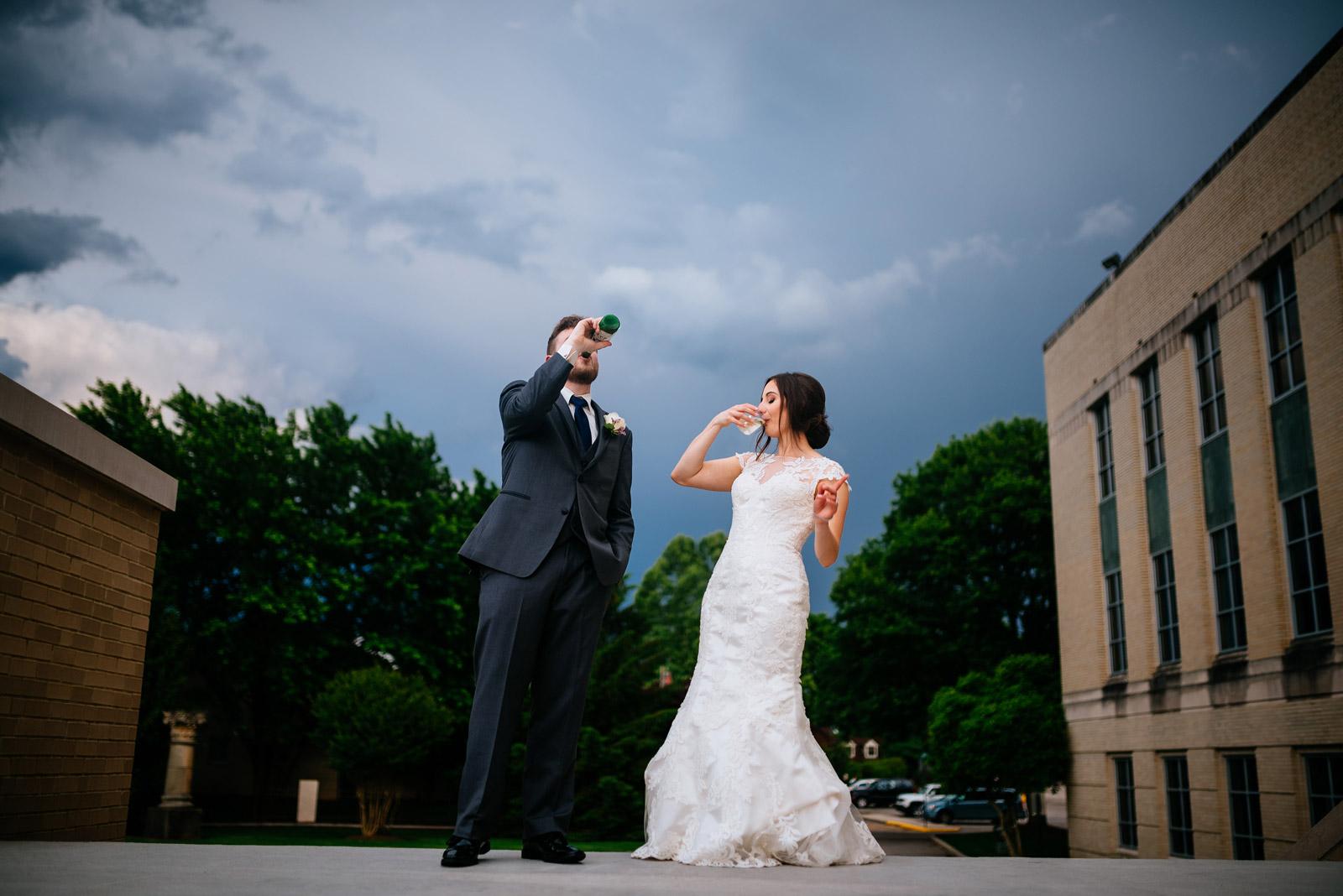 fun wv wedding photos