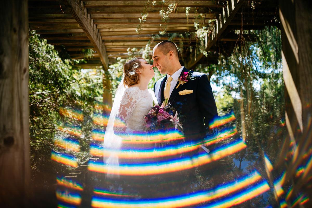 creative bride groom portrait jq dickinson saltworks wedding charleston west virginia