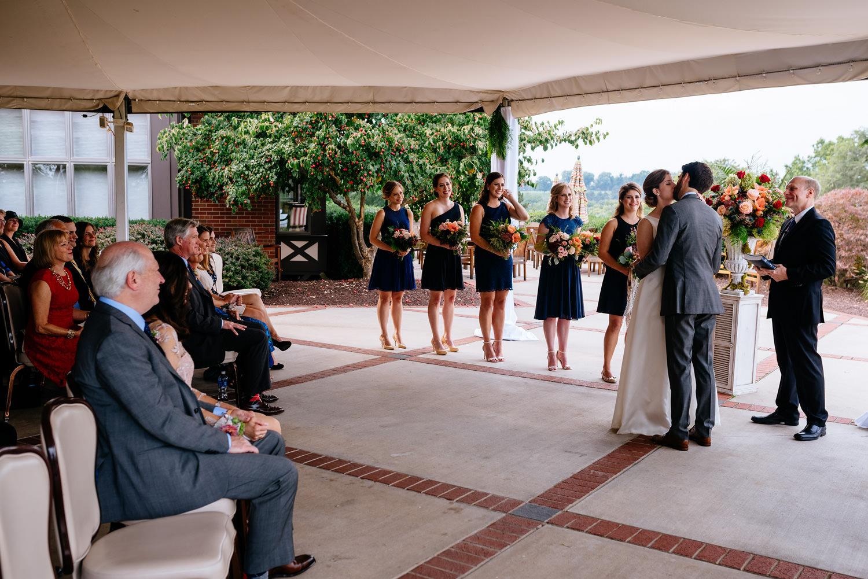 first kiss pittsburgh wedding