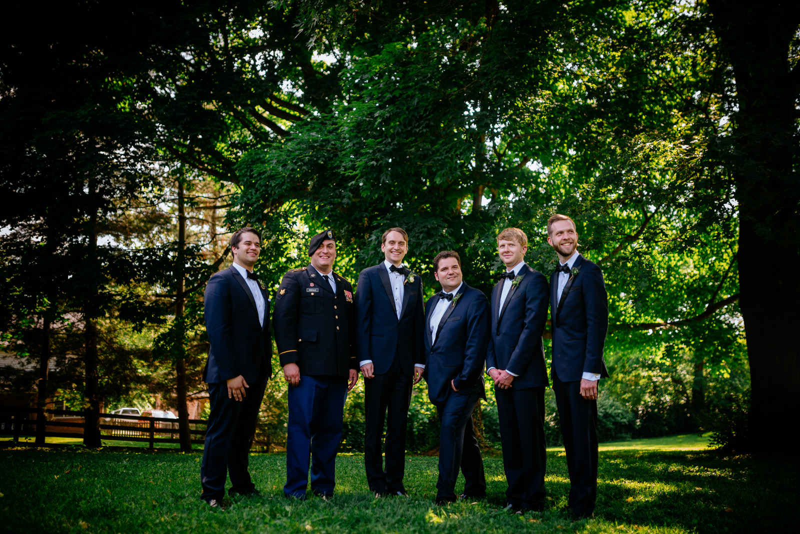 groomsmen holly hill inn wedding lexington ky