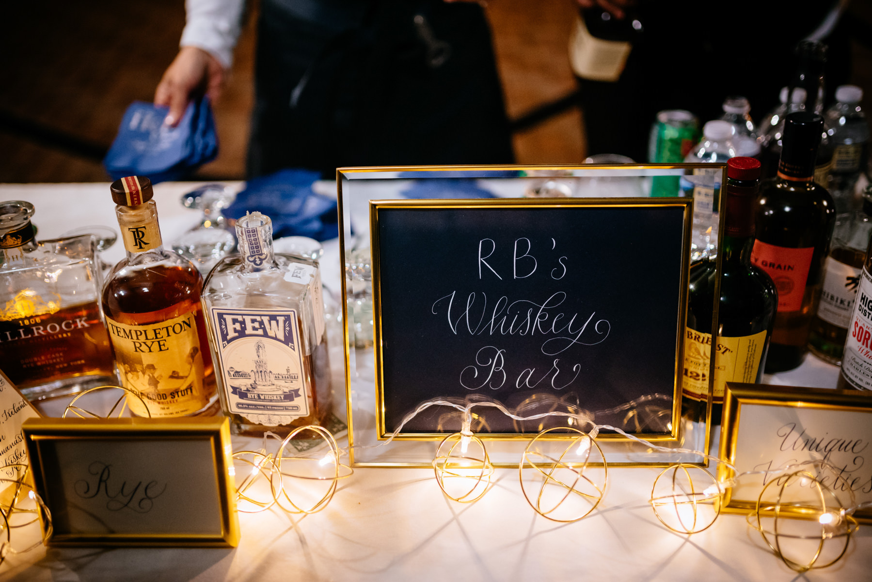 wedding cocktail bar