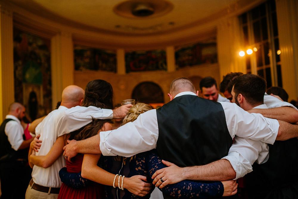 UC wedding reception wv