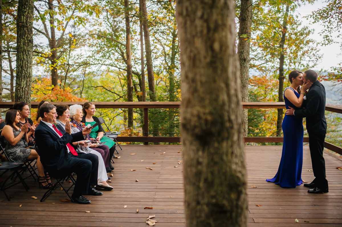 best west virginia wedding photographers the oberports first kiss