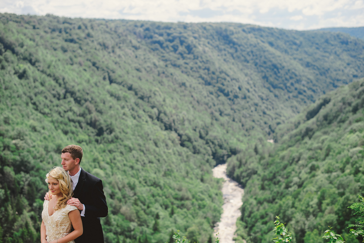 blackwater falls pendleton point wedding