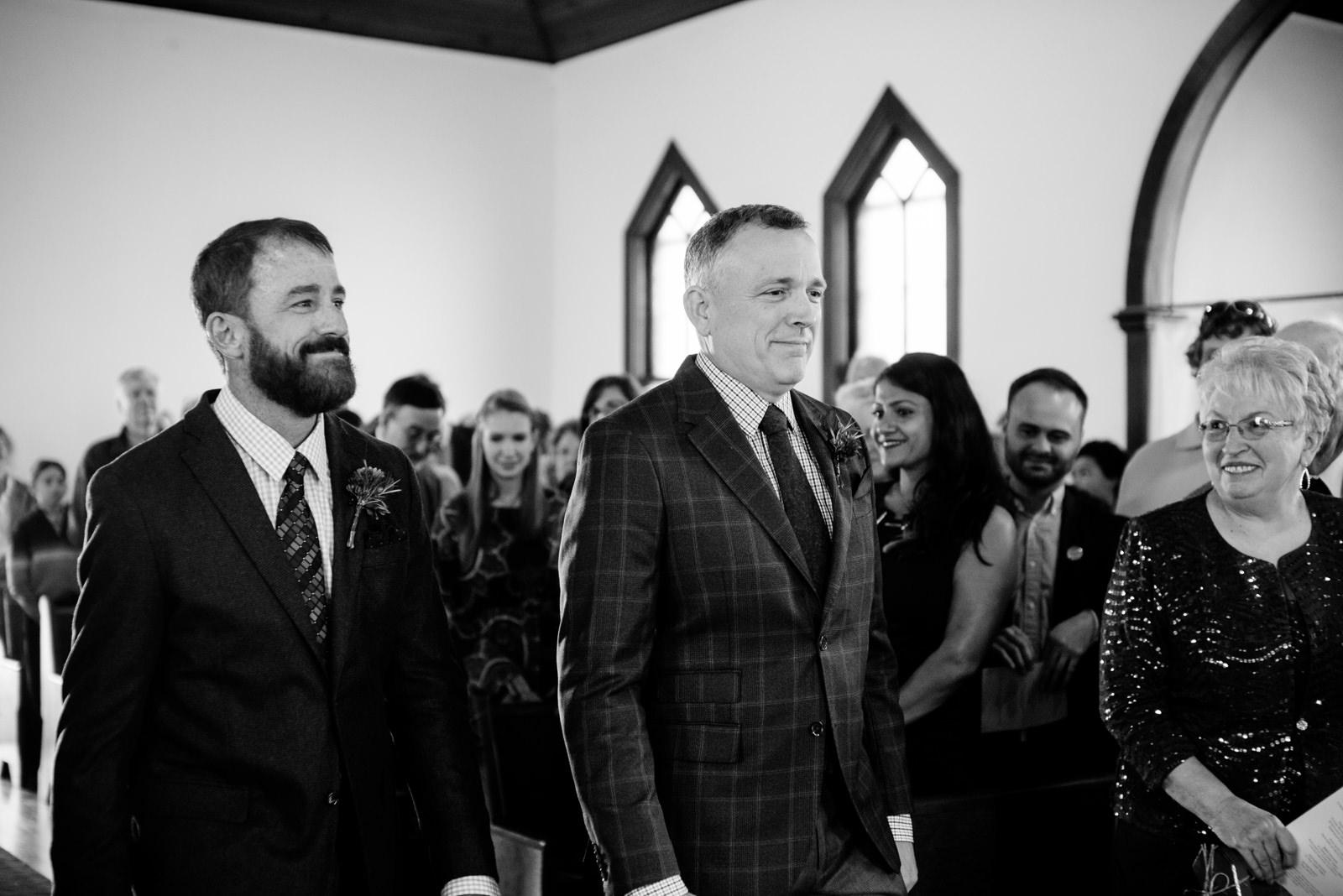 grooms processional gay wv farm wedding
